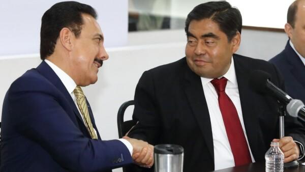 Gobernadores de Puebla e Hidalgo