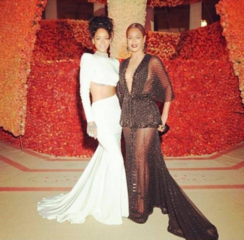 Con esta imagen Beyoncé desmintió que Rihanna hubiera influido en la riña de su hermana y su esposo.