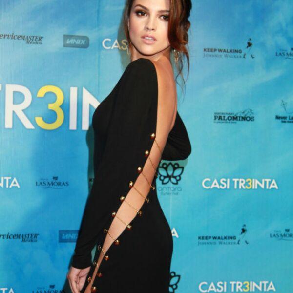 El año pasado, Eiza debutó en el cine con la película Casi Treinta.