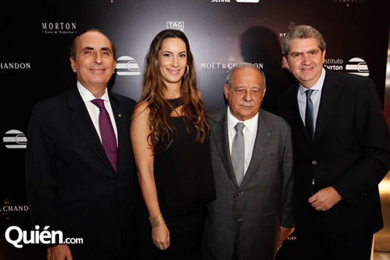 Carlos Slim Domit, Sami Hayek y Abraham Bissú, fueron sólo algunas de las personalidades que se dieron cita en la velada homenaje a Ayrton Senna organizada por Moët & Chandon en el Hotel St. Regis.