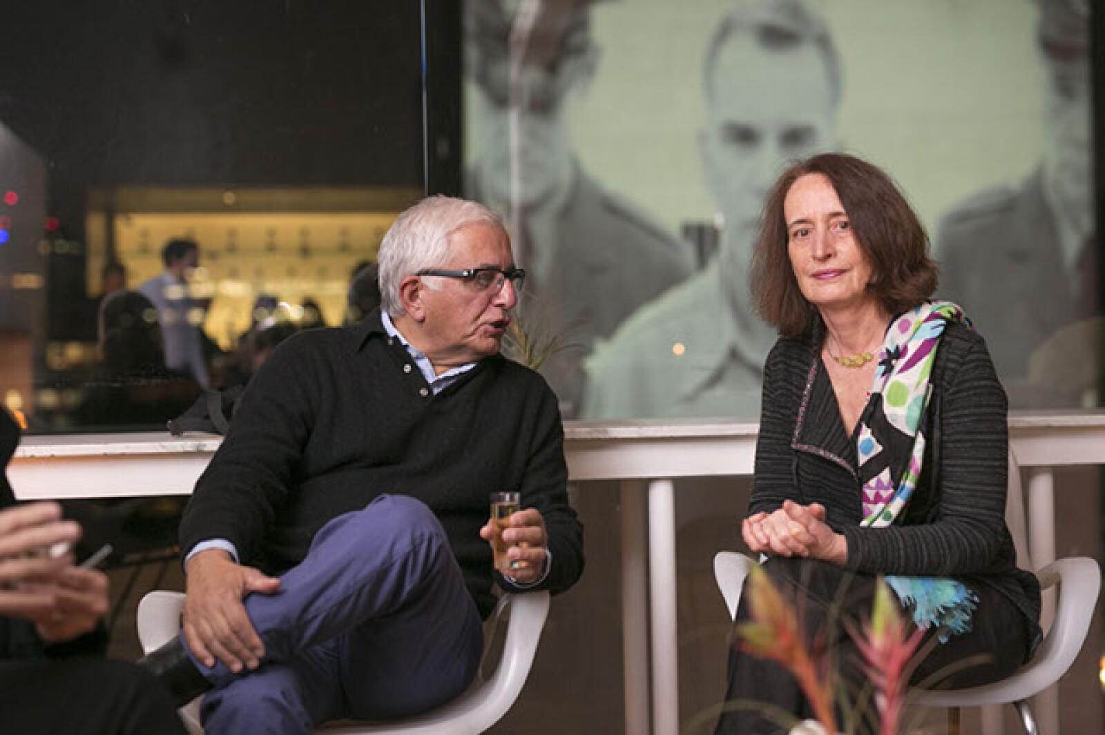 Henri Moyal y Anne Baubion