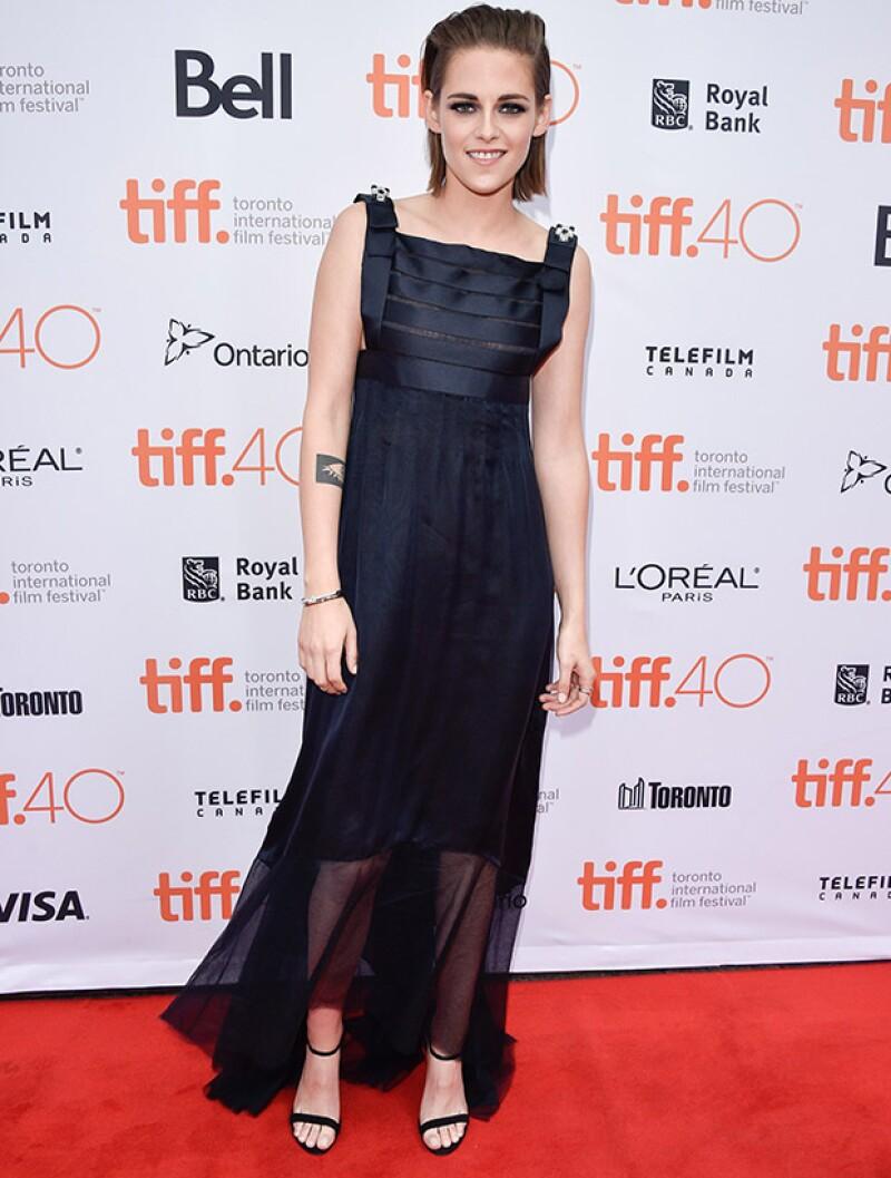 La actriz se sinceró durante la presentación de Equals en el Festival Internacional de Cine de Toronto.