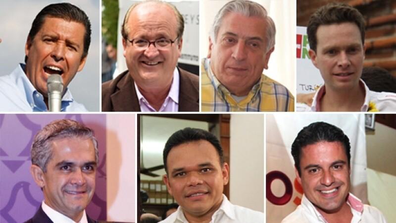gobernadores electos 2012