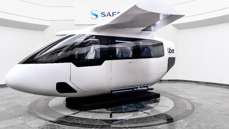 Uber ya tiene diseño para sus taxis que vuelan