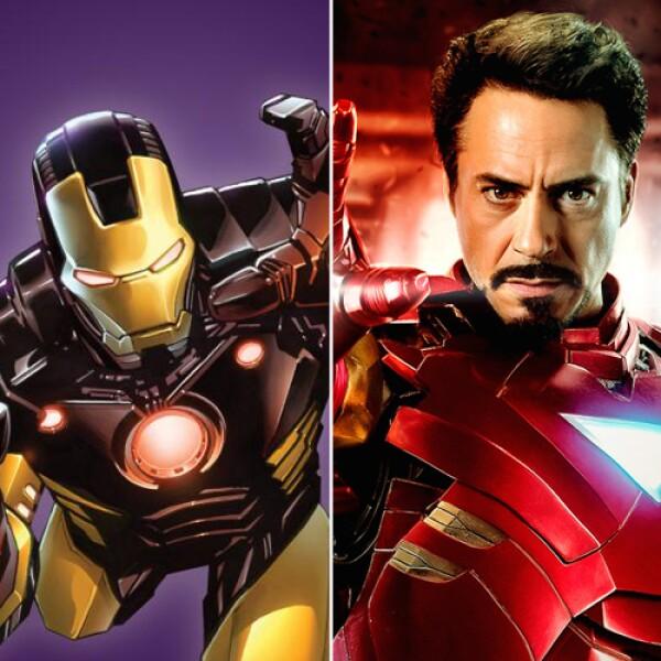Robert Downey Jr. interpretó al sarcástico Tony Stark en la saga de Iron Man.