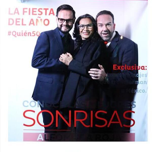 Hugo Arroyo, Patricia Reyes Spíndola y Horacio Castelar