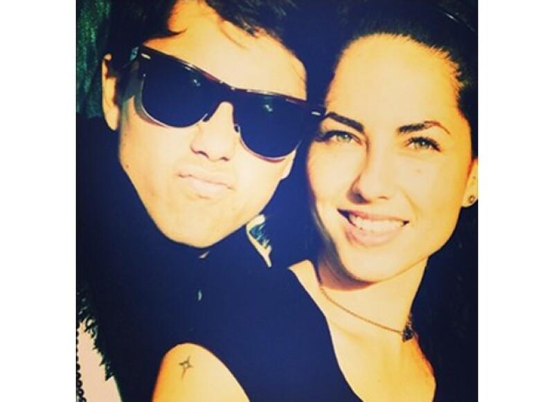 El día de hoy Sergio Mayer Mori cumple 16 años, guapo, súper enamorado y consentido por su mamá.