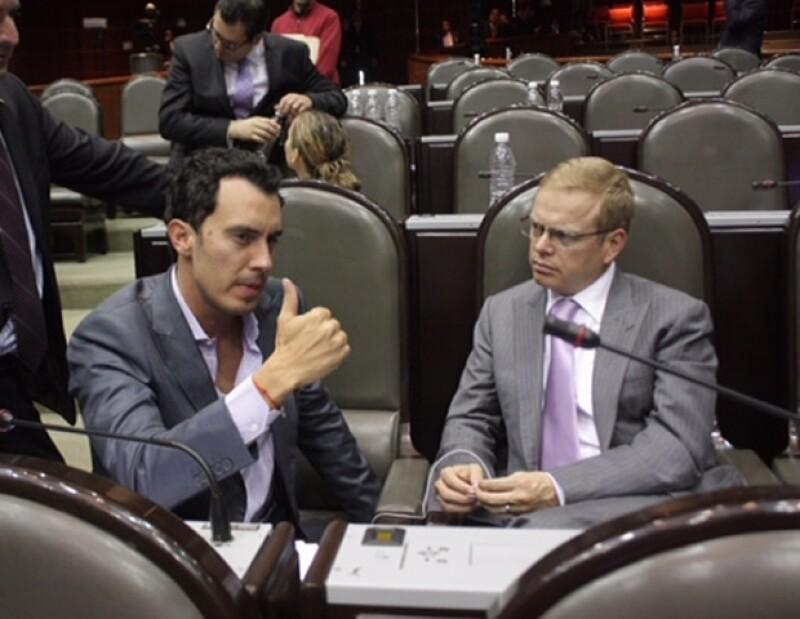 Arturo Escobar del Partido Verde también se interesó por el proyecto.