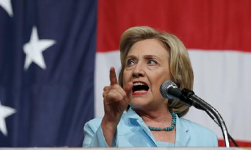 La crisis en China podría complicarle el panorama político a Hillary Clinton. (Foto: Reuters)