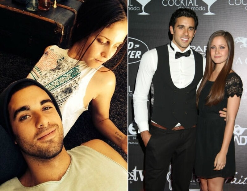Natasha y José Pablo comparten su amor a través de las redes sociales.