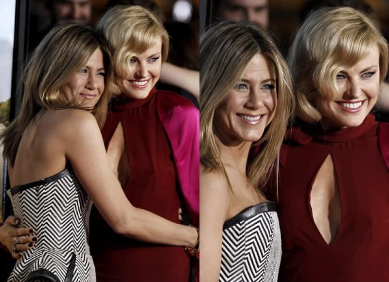 Jennifer Aniston y Kathryn Han. La película se filmó en 2011 y su estreno en Estados Unidos será el 24 de febrero.