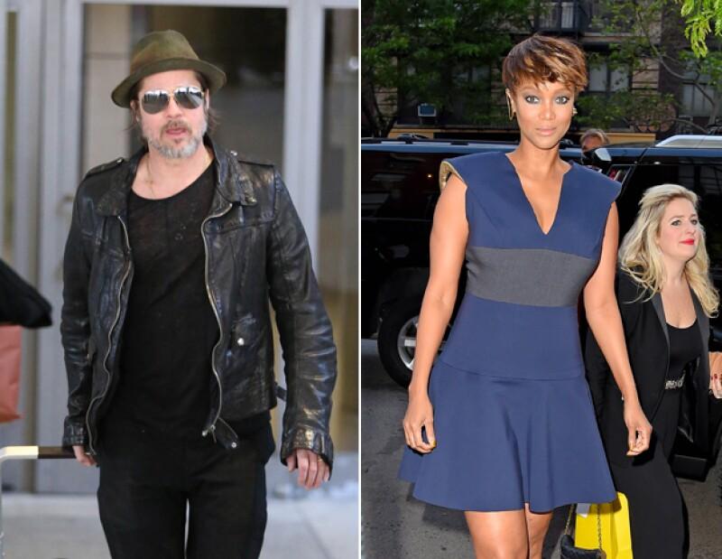 Brad Pitt y Tyra Banks también tienen sus respectivas fobias.