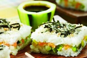 sushi algas comida japonesa