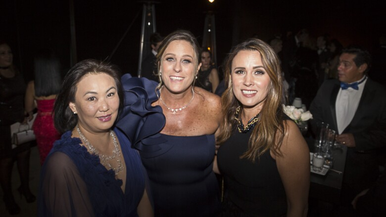 Patricia Kishigami, Nicole Jusidman, Adriana Rivera