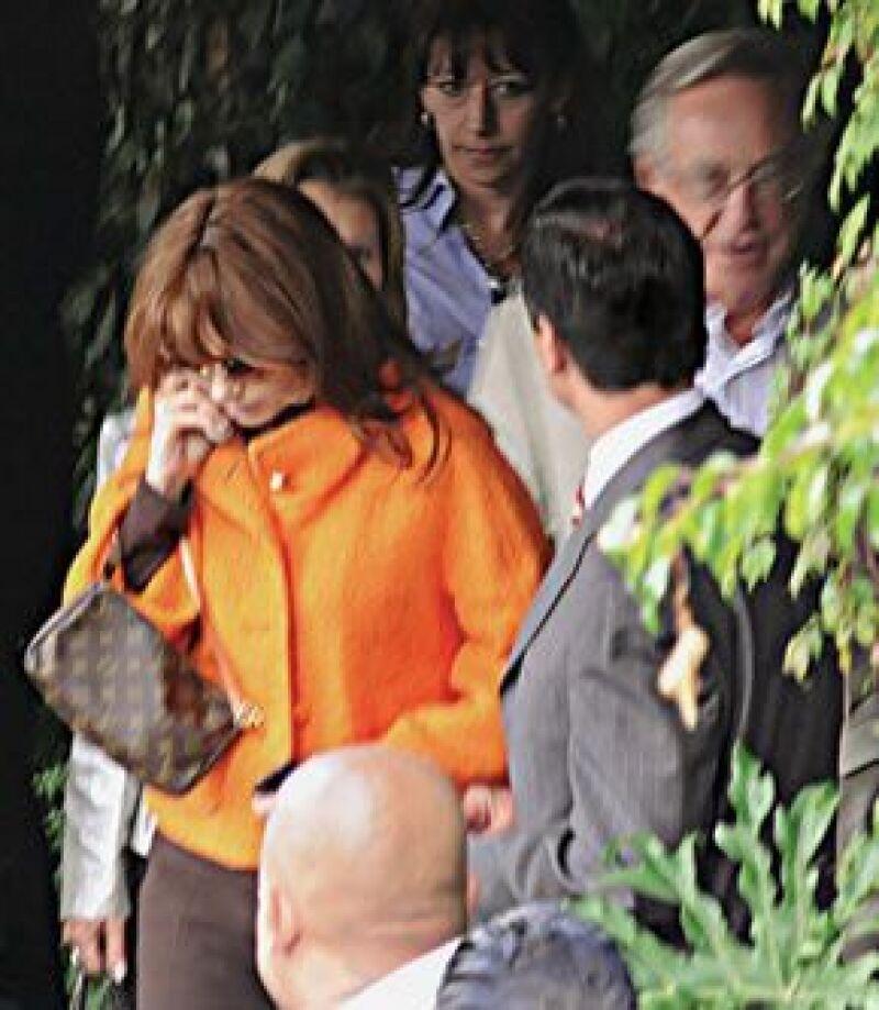 El gobernador del Estado de México y Angélica Rivera sostienen una relación sentimental desde hace cuatro meses.
