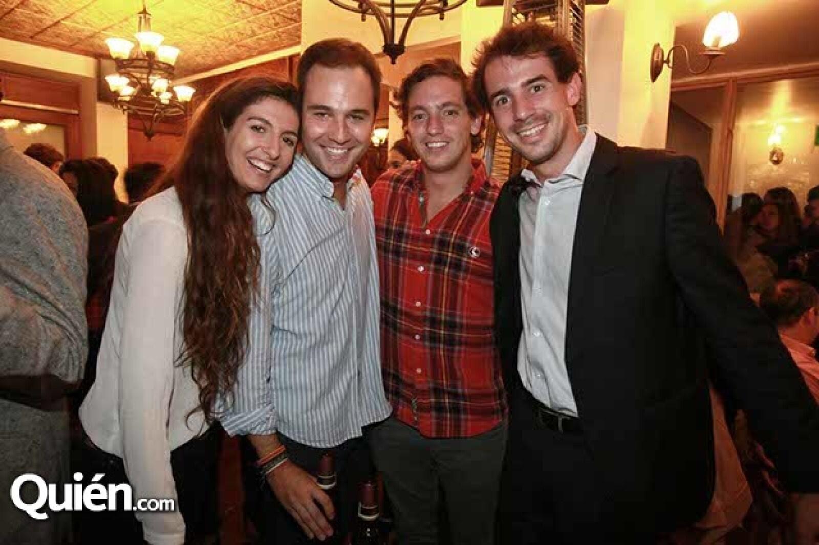 Carla Espadas,Chemi Martín,Rori Cadavieco y Pablo Galiana