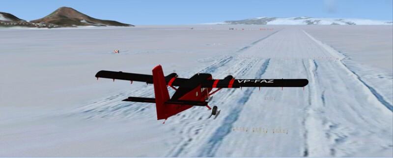 Aeropuerto Ice Runway