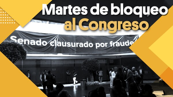 Bloquean Senado y Cámara de Diputados | #Clip