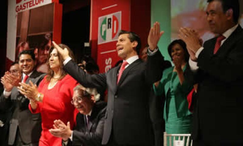 Peña Nieto espera que el crecimiento económico abata en proporción la violencia del país. (Foto: Notimex)
