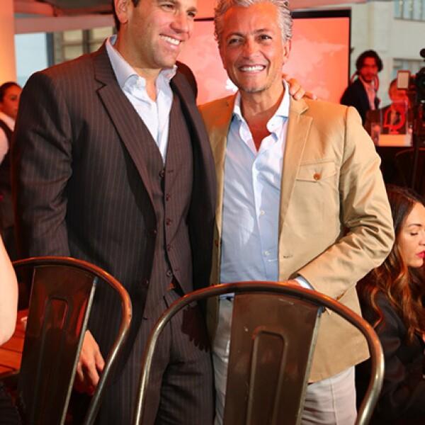 Carlos Loret de Mola y Arturo Velasco