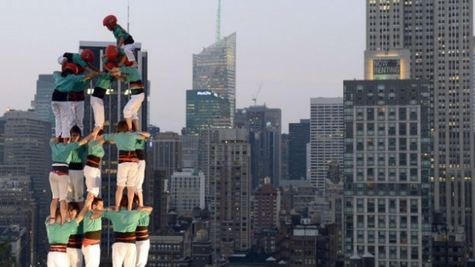 Torre humana nueva york