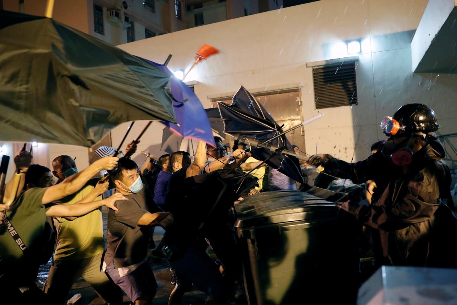 Protestas Hong Kong.