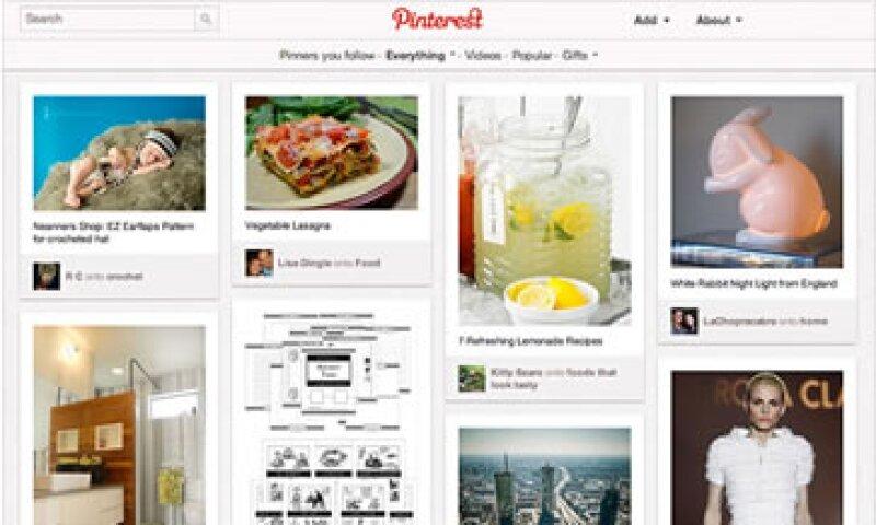 Pinterest calznó 54 millones de usuarios en el último año.  (Foto: Cortesía CNNMoney.com)