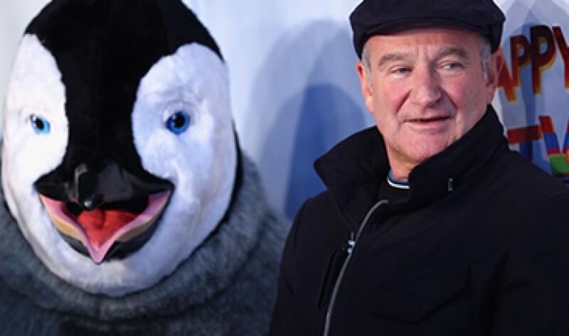Robin Williams había retomado su papel de Teddy Roosevelt en la película Night at the Museum. (Foto: Getty Images)