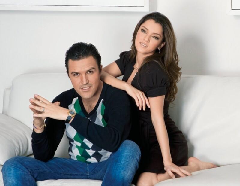 Billy Rovzar y Sara Maldonado.