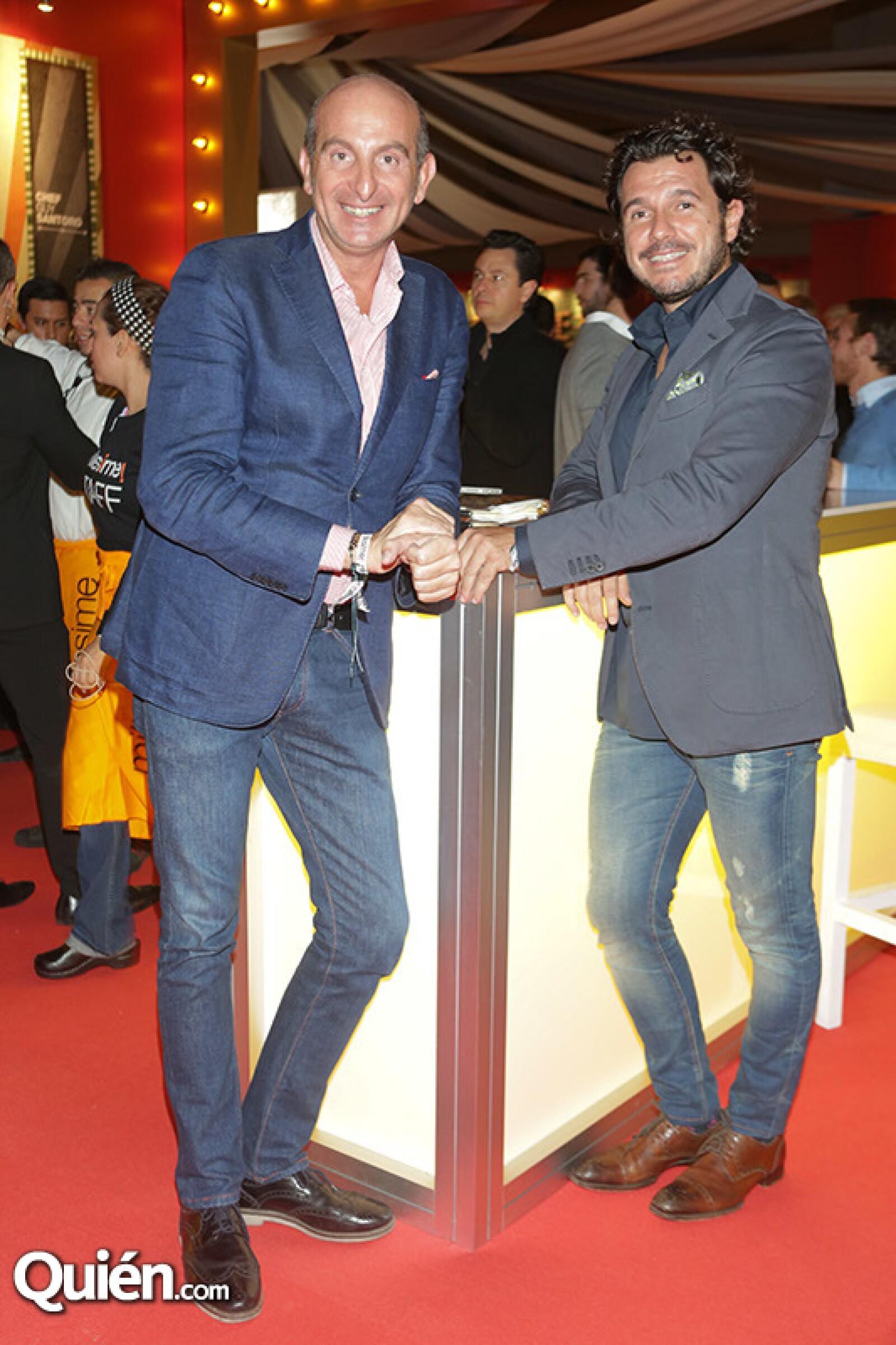 Fabio Libra y Rolly Pavia