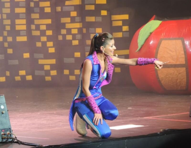 Patylu llenó de magia y música el escenario del Teatro del Parque Interlomas.