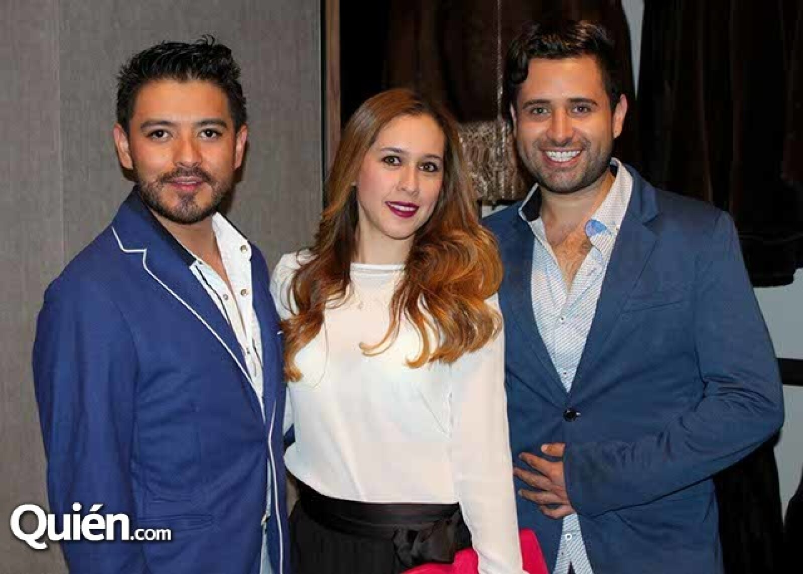 Alberto Becerra,Mariana Artiaga y Eduardo Alcala%u0301