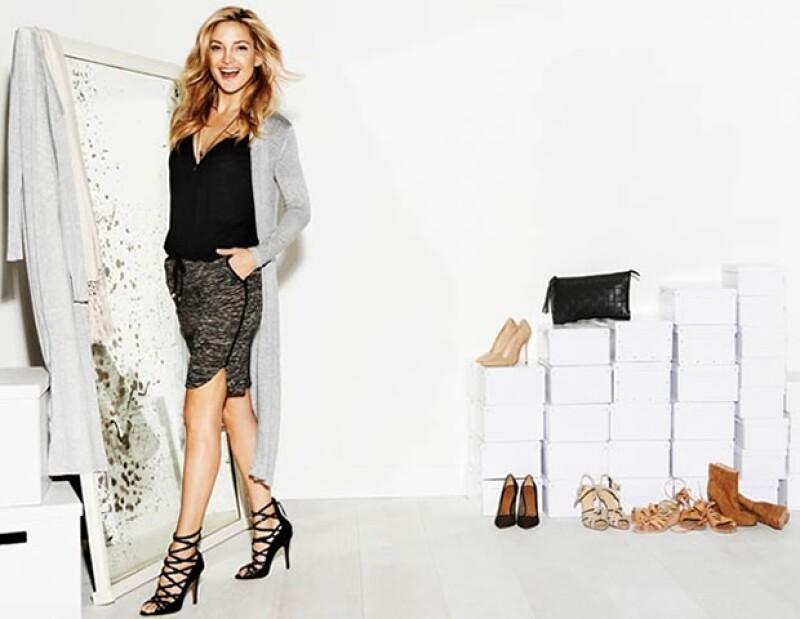 La colección está hecha para que las mujeres `no tengan miedo de mezclar prints´, asegura la actriz.