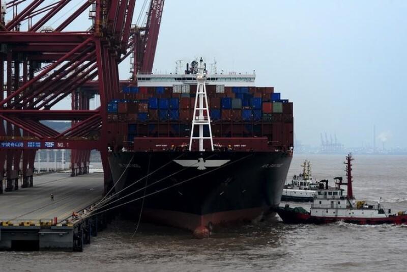 Las exportaciones de China registraron su primera alza desde junio de 2015.