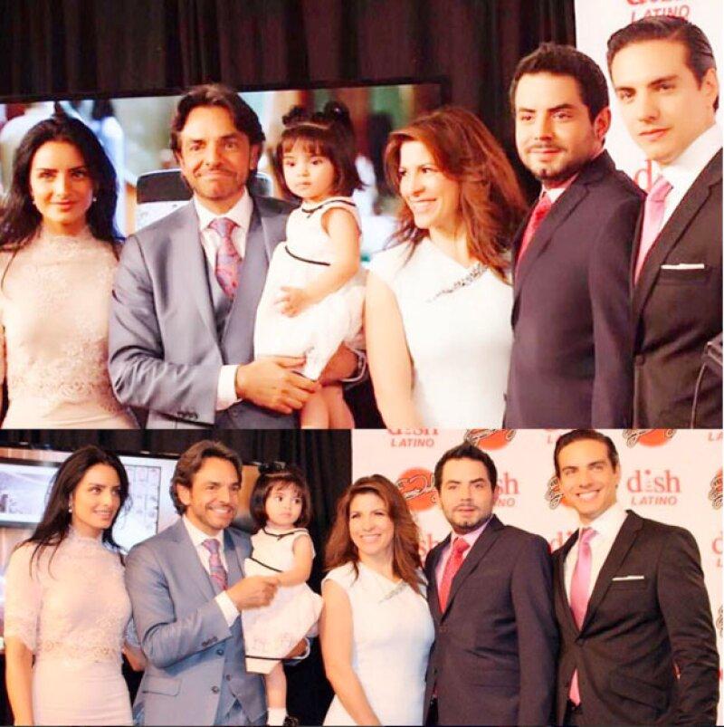 Somos familia, así describió Alessandra la celebración de todos los Derbez hacia Eugenio.