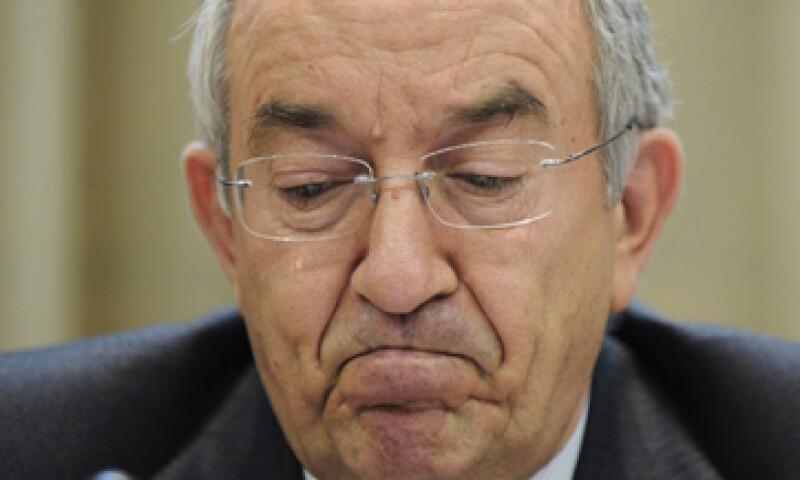 Estaba previsto que Fernández Ordóñez dejara el cargo el 12 de julio. (Foto: AP)