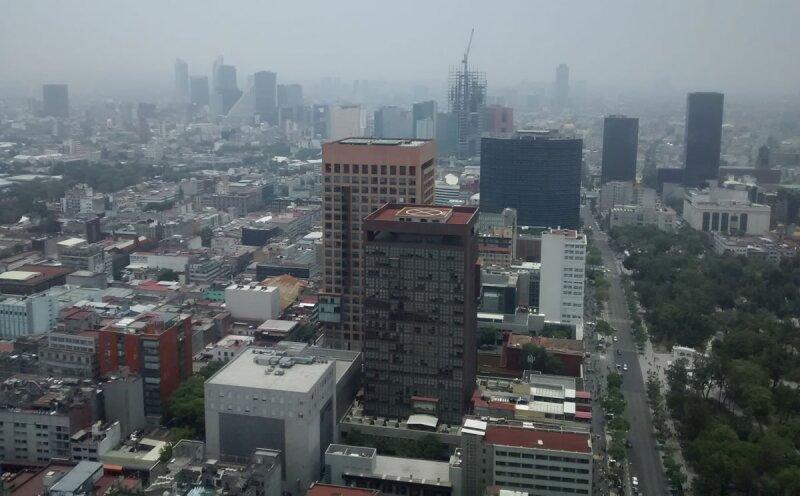 Contaminación. Mayo fue un mes de mala calidad de aire en la Ciudad de México que provocó cuatro contingencias consecutivas.