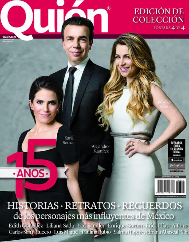 Karla Souza, Ludwika Paleta y Alejandro Ramírez son sólo algunos de nuestros consentidos que recibieron The Q Bag.