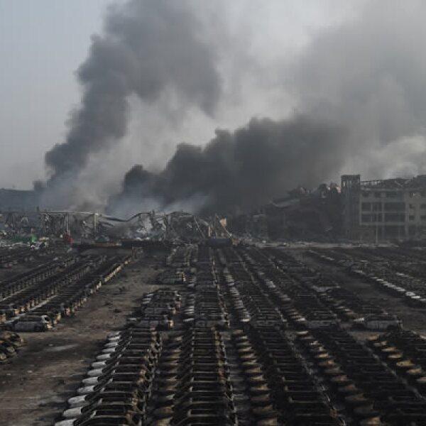 Tianjin es una ciudad industrial y uno de los principales puertos del norte de China.