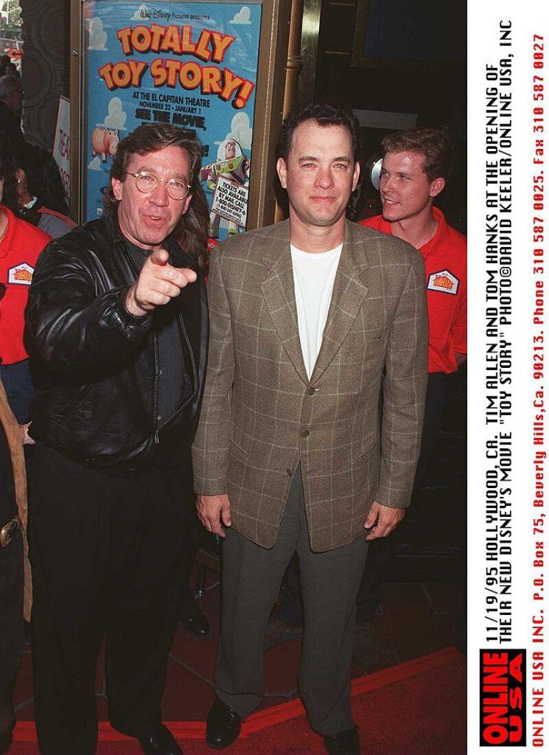 Tim Allen y Tom Hanks