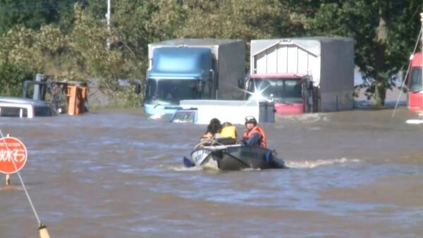 Al menos 35 muertos en Japón por el paso del tifón Hagibis