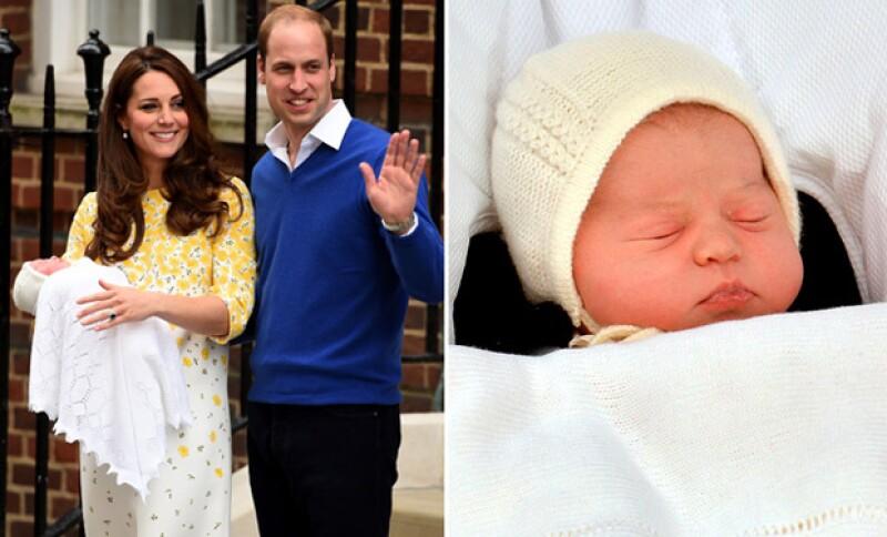 Ayer Kate y el príncipe William le dieron la bienvenida a su segundo hijo, quien resultó ser una niña de 3 kilos 713 gramos.
