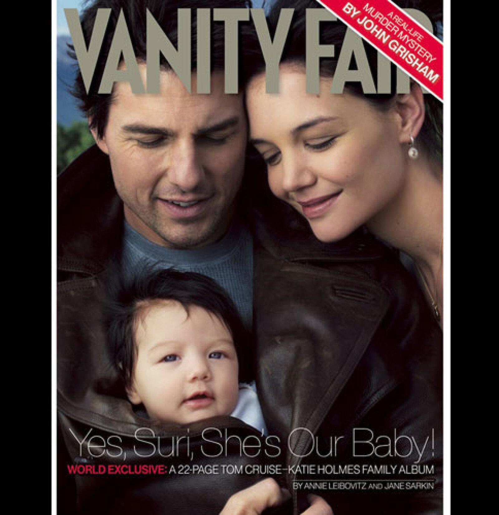Fue un 18 de abril cuando Tom Cruise y Katie Holmes se convirtieron en padres.