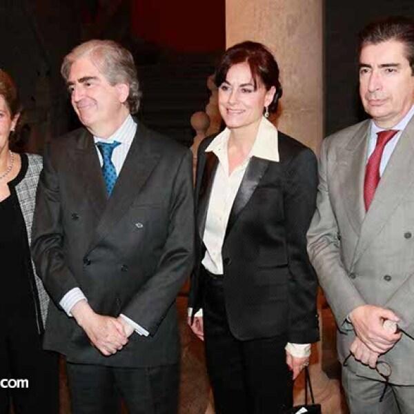 María Cristina Cepeda,Rafael Tovar y de Teresa,Mercedes García Ocejo y Fernando Tovar y de Teresa
