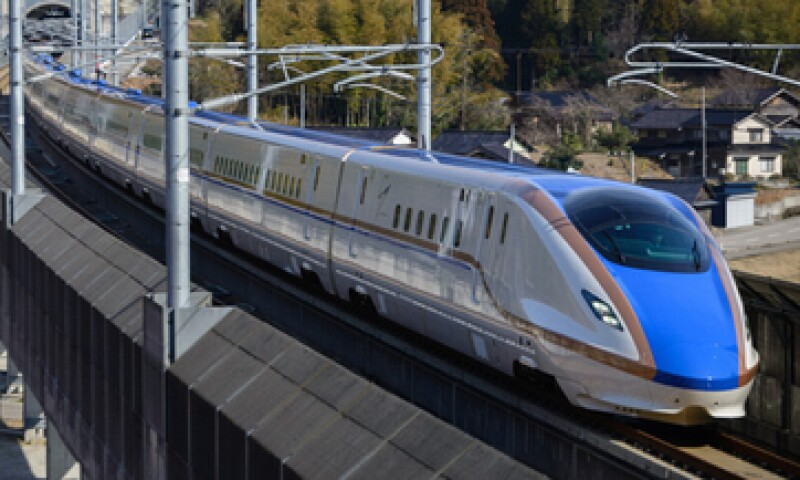 Sin tener que viajar a Japón puedes conocer su nuevo tren bala (Foto: Cortesía Japan Railways Group)