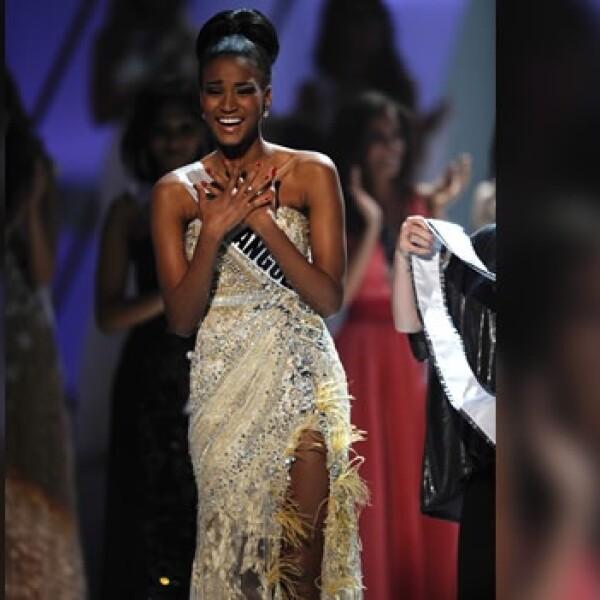Miss Universo Leila Lopes Angola Navarrete