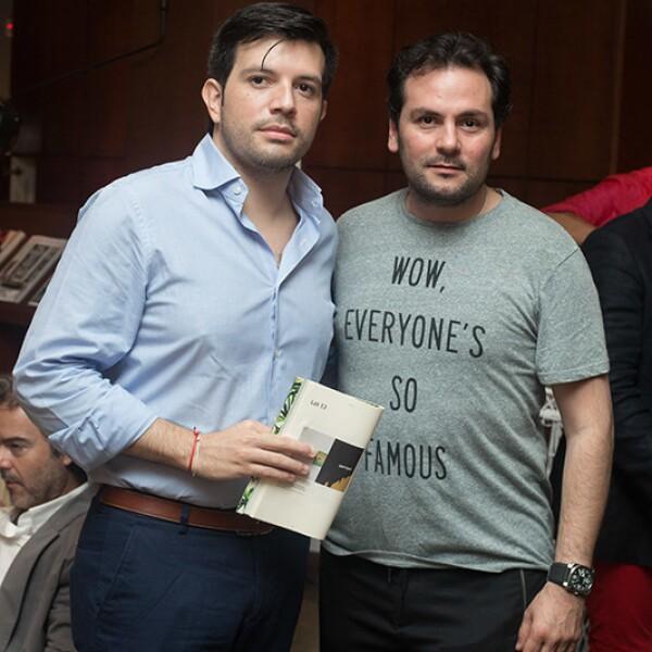 Juán Carlos Cervera y Gerardo Sarur