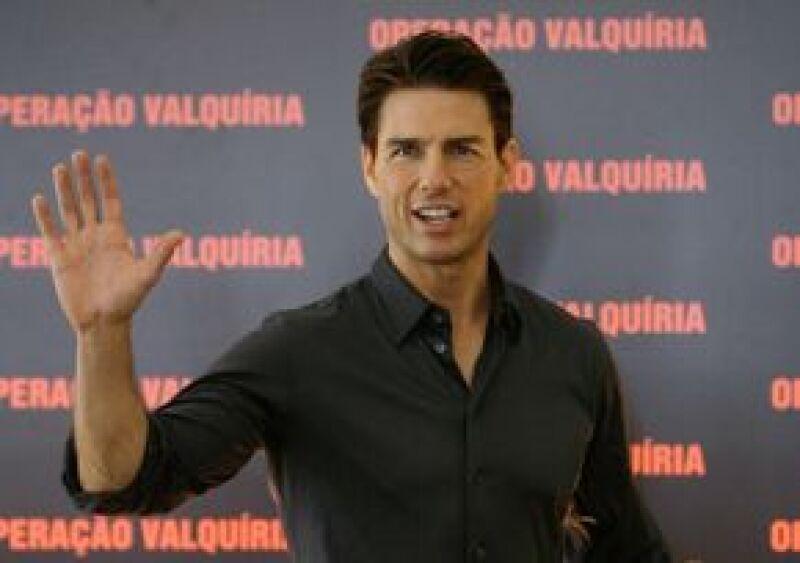En su visita al país sudamericano para promocionar Valquiria, el actor respondió a una pregunta ´gracias´ en español y también dijo disfrutar del tango, el tradicional baile de Argentina.