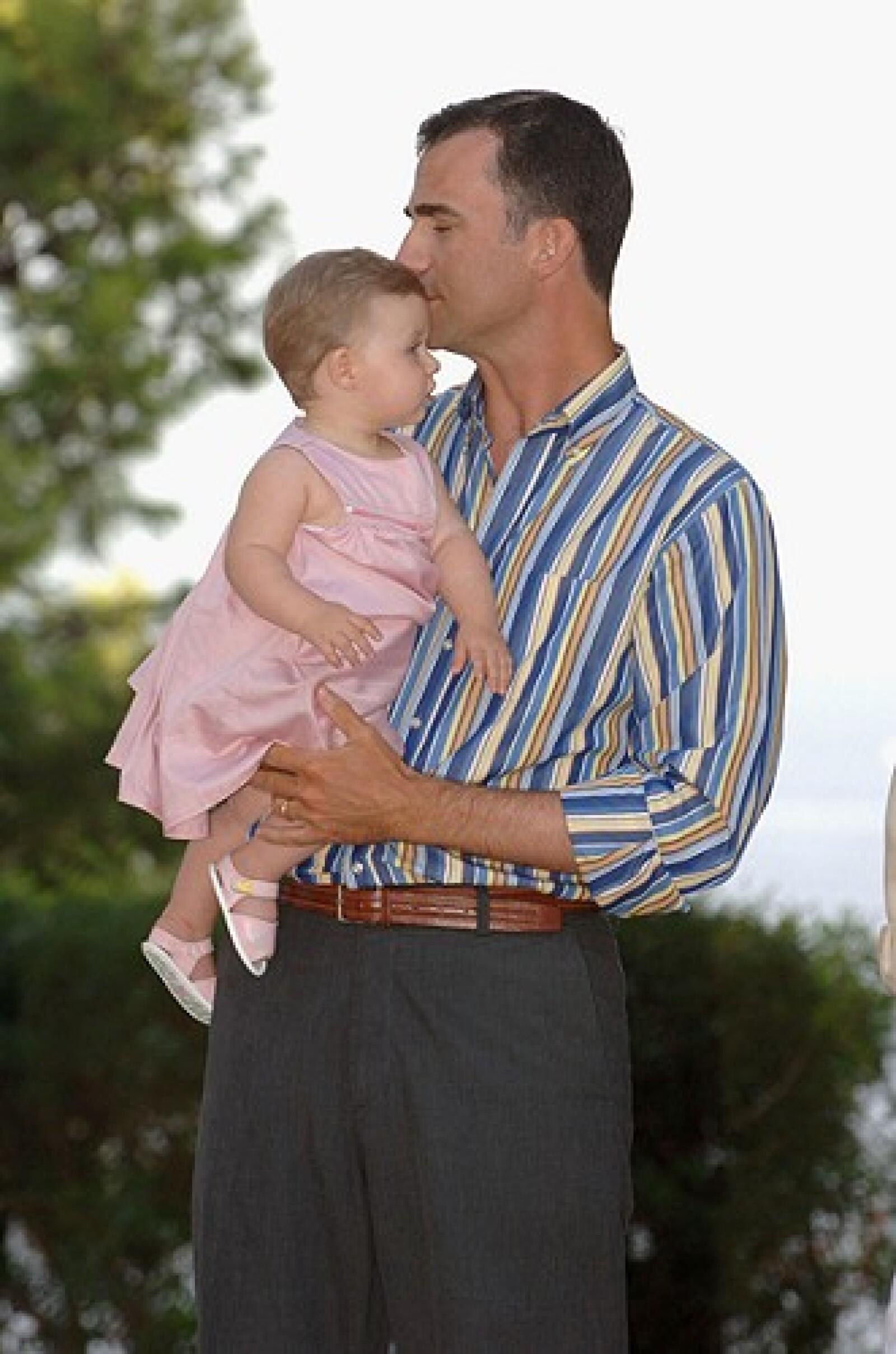 El príncipe Felipe de Asturias tiene dos hijas, Leonor y Sofía.