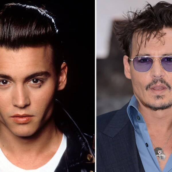 Desde que inició su carrera, Johnny Depp ha conquistado al mundo.